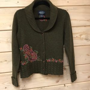 Eddie Bauer Collectibles Lambs' Wool Sweater  Sz S